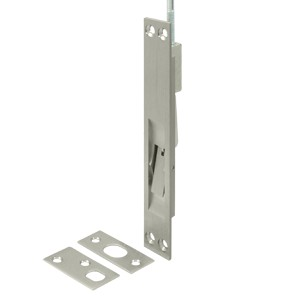 """Deltana 24EFB15A 12"""", 18"""" and 24"""" Extension Flush Bolt, Solid Brass"""