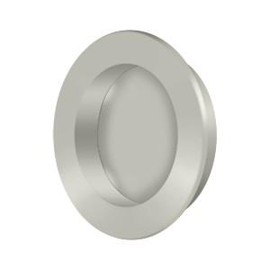 "Deltana FP238U15 Flush Pull Round HD 2 3/8"" Solid Brass"