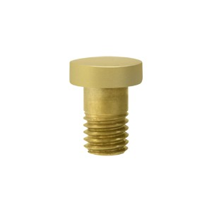Deltana HPSS70U3-UNL Solid Brass Extended Button Tip for Solid Brass Hinges in Unlacquered Brass