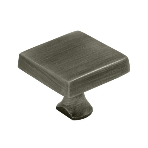 Deltana KBSU15A Solid Brass Square Knob For HD Bolt