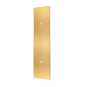 "Deltana PPH3515CR003 Push Plate 15"" for 8"" Door Pull"
