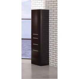 "Design Elements DEC066S-E Malibu 66"" Linen Cabinet"
