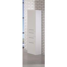 "Design Elements DEC066S-W Malibu 66"" Linen Cabinet"