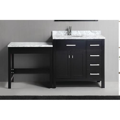 Dec076d Mut Design Element Dec076d Mut London 36 Single Sink Vanity Set In Espresso With One