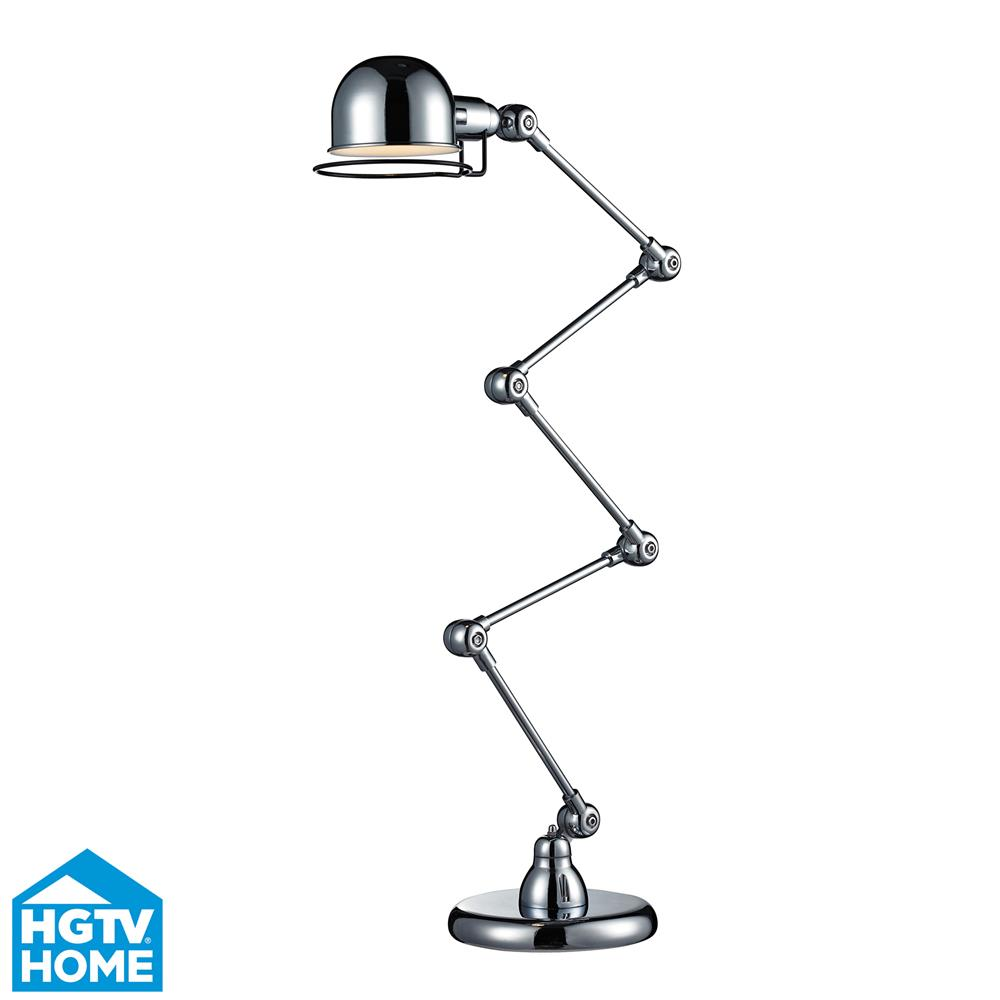 Dimond by ELK HGTV260 HGTV FLOOR LAMP in CHROME