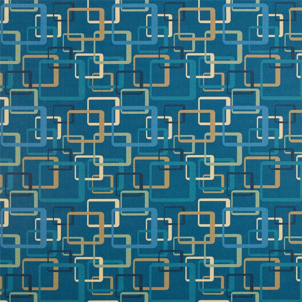 Douglass Industries 5043-302 Environs Bally Aqua   Upholstery Vinyl