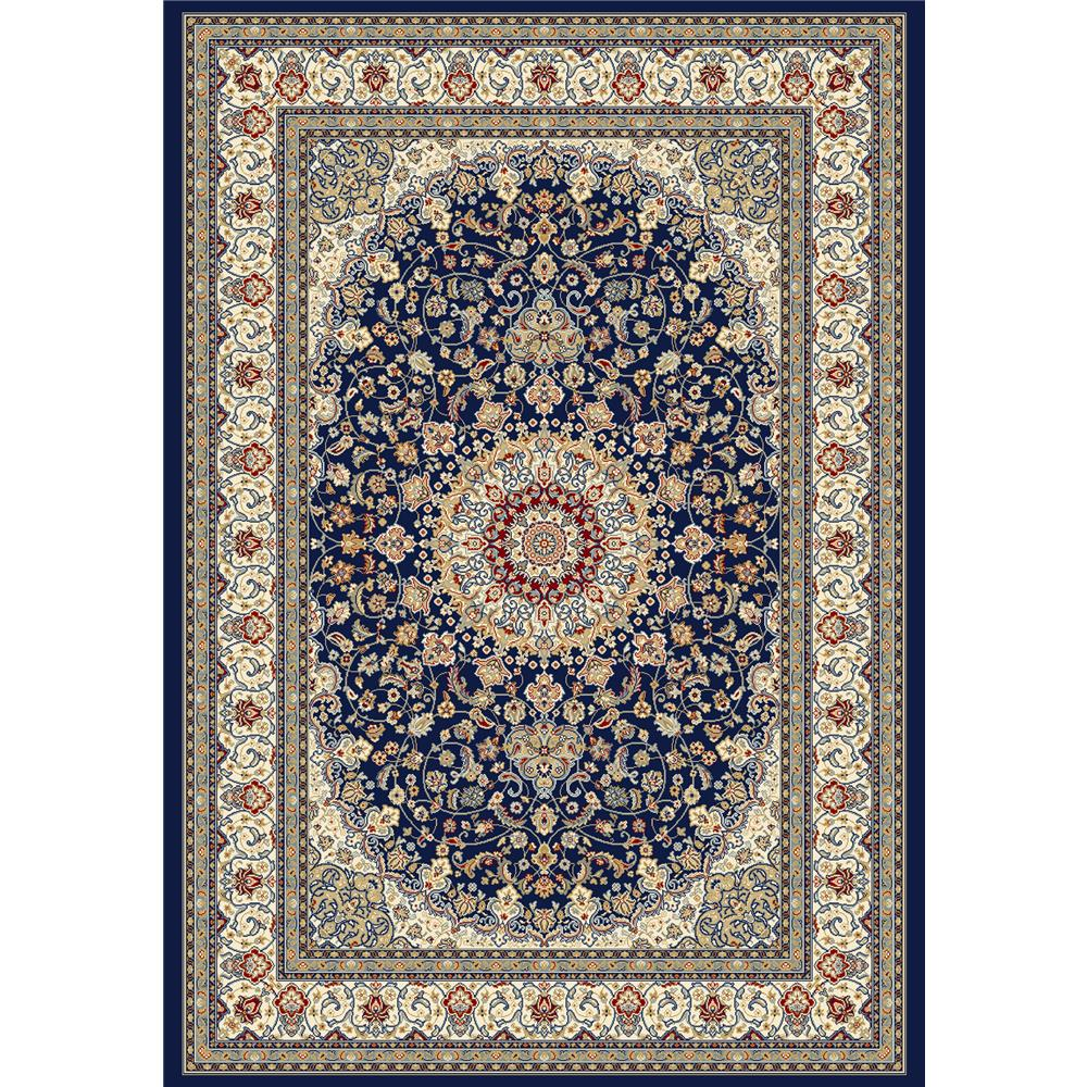 Dynamic Rugs AN24571193434   ANT GARDEN 2X3.11 57119-3434 BLUE/IVORY