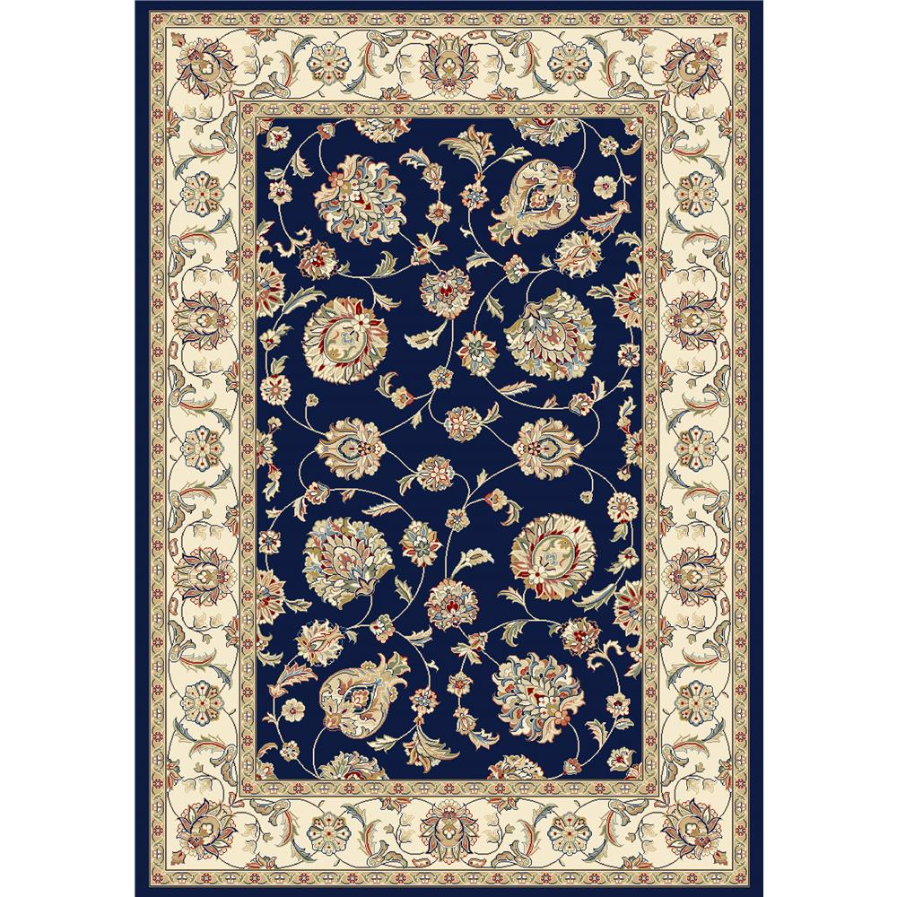 Dynamic Rugs AN24573653464   ANT GARDEN 2X3.11 57365-3464 BLUE/IVORY