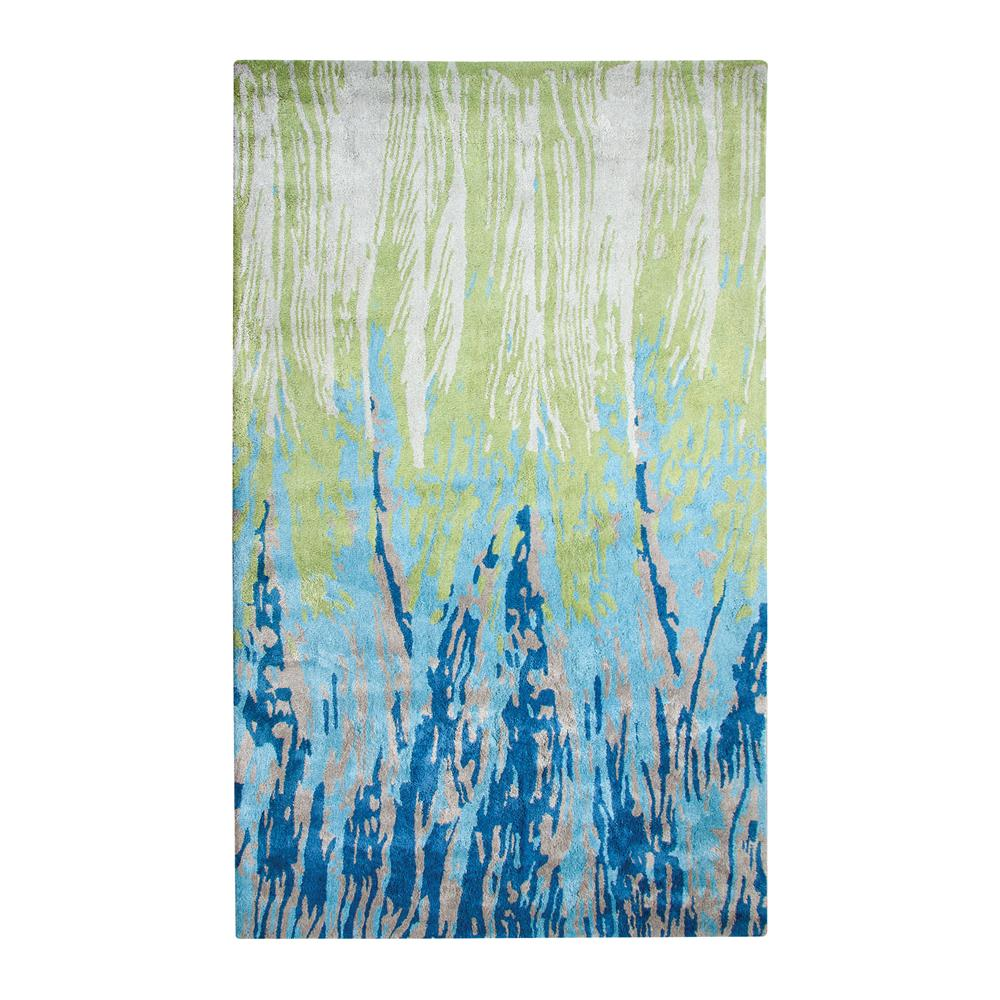 Dynamic Rugs VO24881001154 VOGUE 2X4 881001-154 BLUE/GREEN