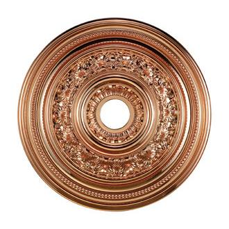 ELK Lighting M1012CO English Study Medallion 24 Inch In Copper Finish
