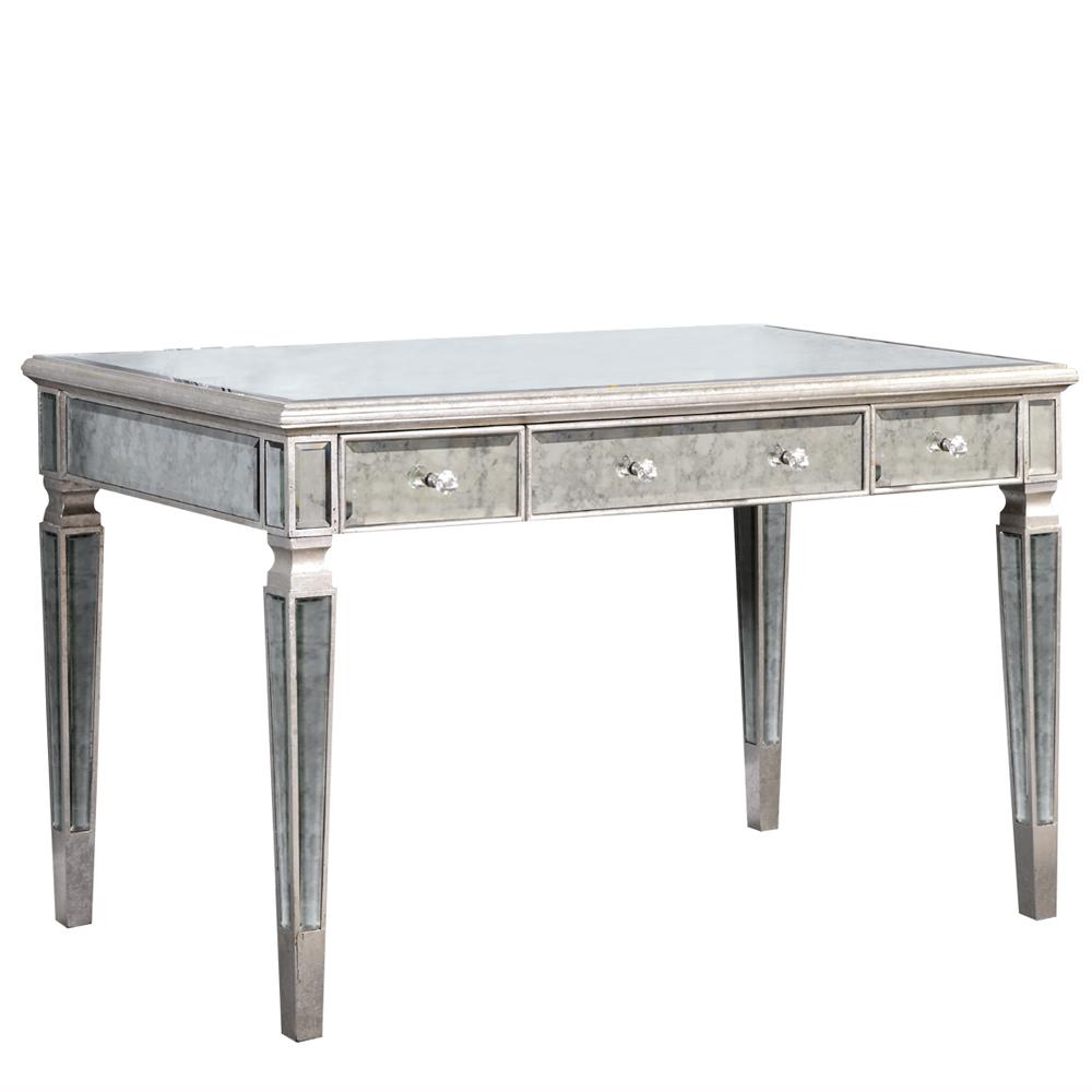 "Elegant Lighting MF1-4002SA Florentine 3 Drawer Desk 48""x28""x30""H SA"