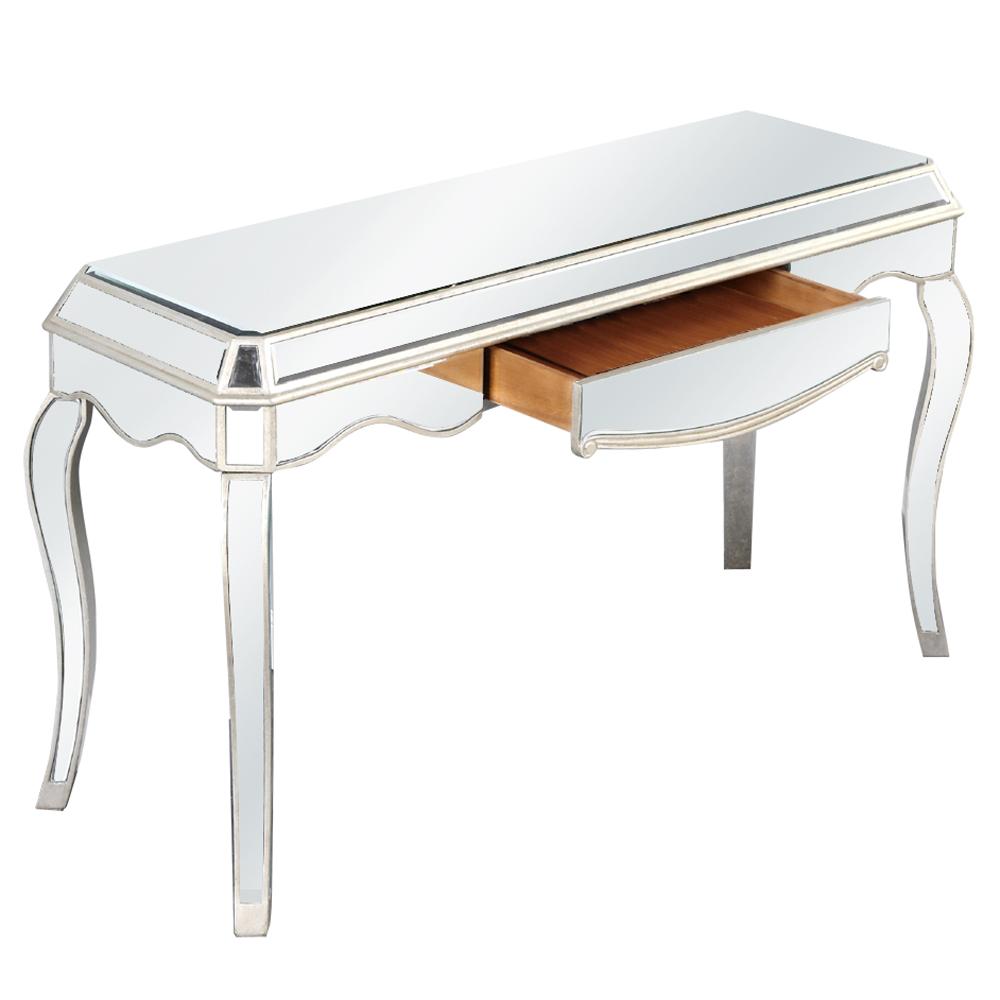 """Elegant Lighting MF3-4001SC Camille 1 Drawer Desk 52""""x19""""x31""""H SC"""