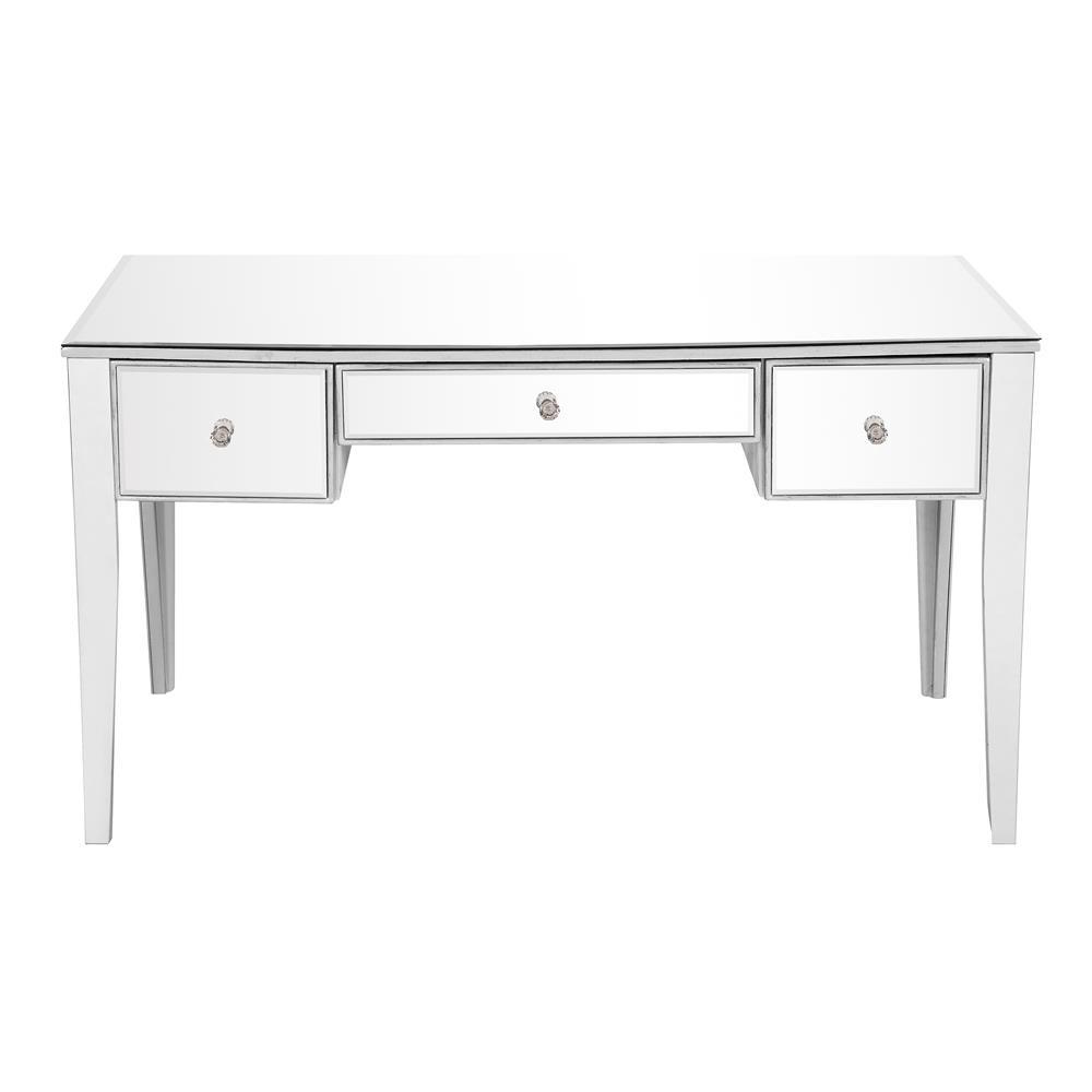 Elegant Lighting MF6-1029S 3 Drawer Rectangle Desk 54 in. x 27 in. x 30 in.