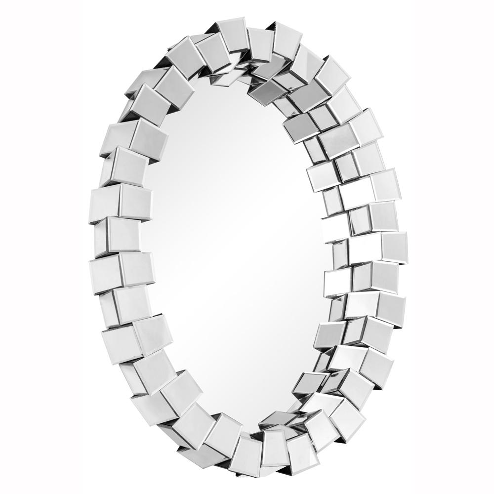 "Elegant Lighting MR-3197 Modern Mirror 41.5"" x 30.2"" x 4.9"" CL"