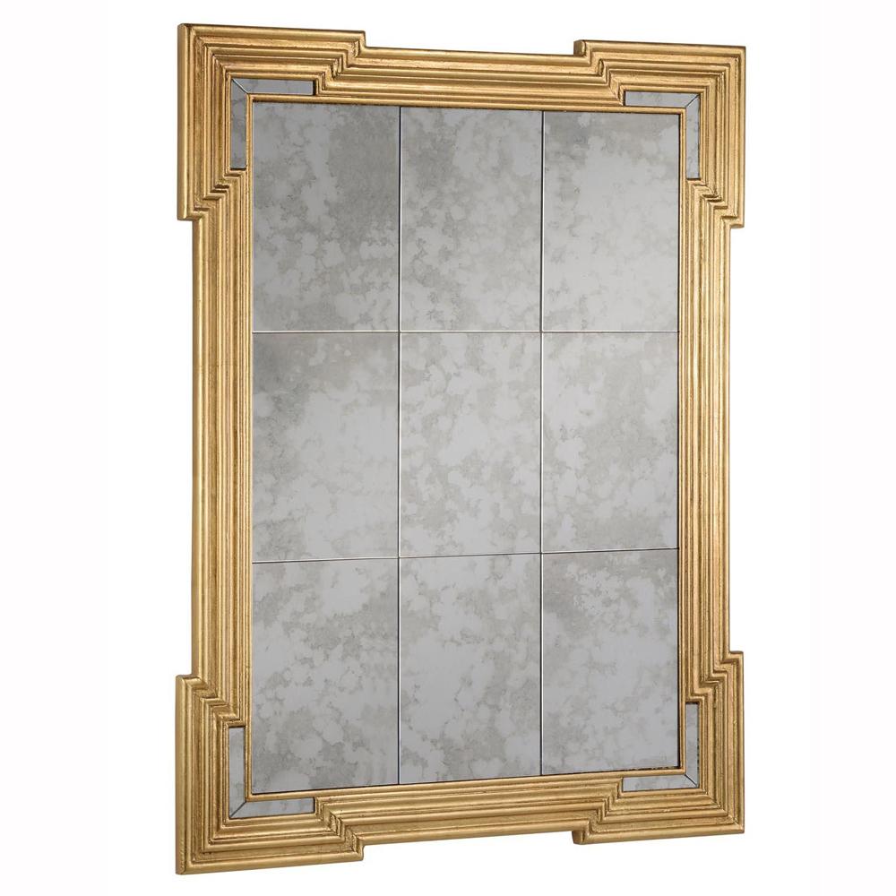 """Elegant Lighting MR-3330 ANTIQUE Mirror 30"""" x 40"""" x 2"""""""