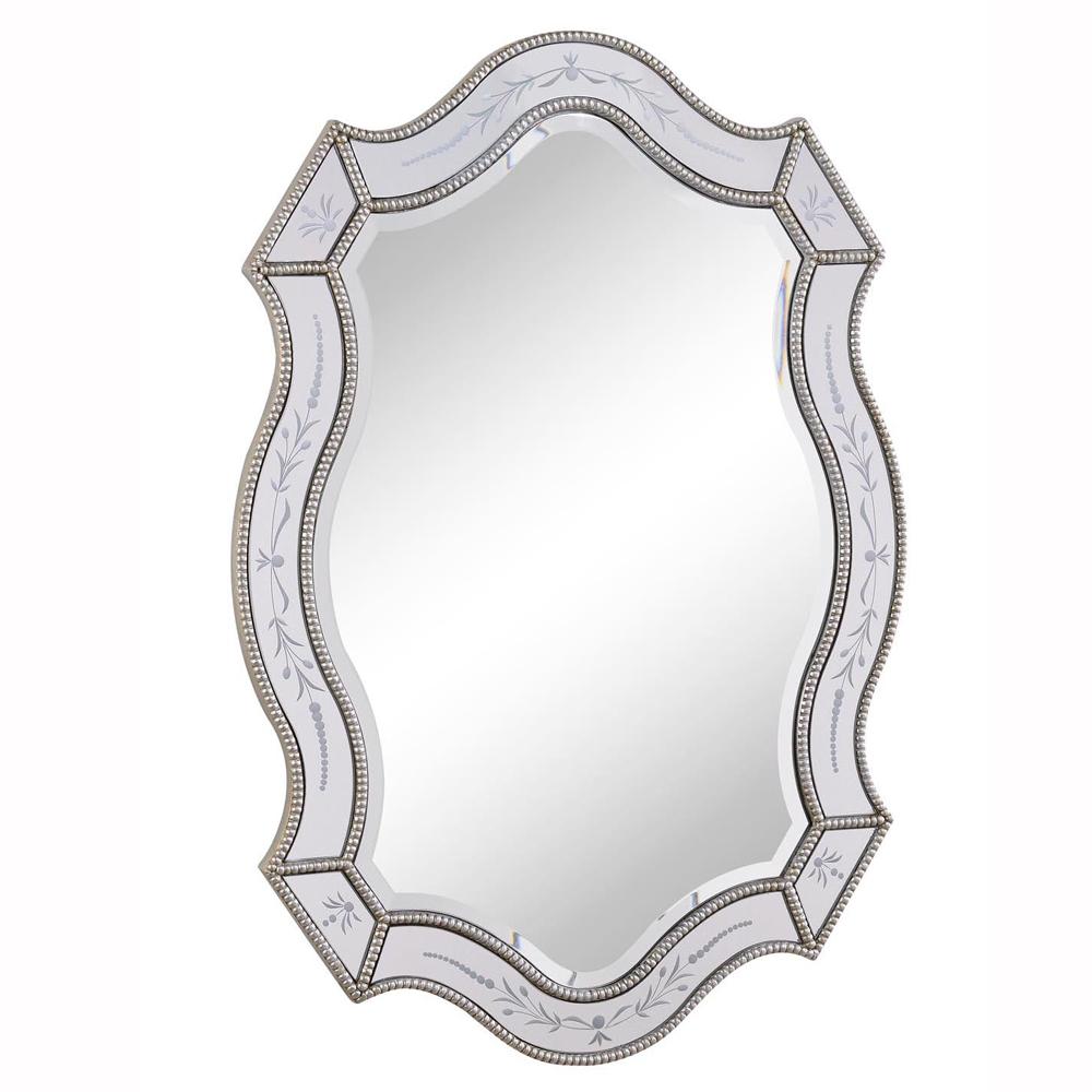 """Elegant Lighting MR-3331 ANTIQUE Mirror 28"""" x 40"""" x 1-1/8"""""""