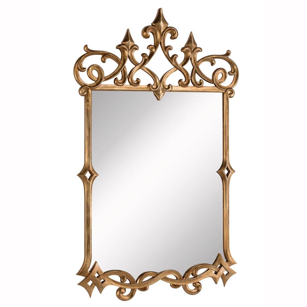 "Elegant Lighting MR-3343 ANTIQUE Mirror 30"" x 48"" x 1-3/4"" G"