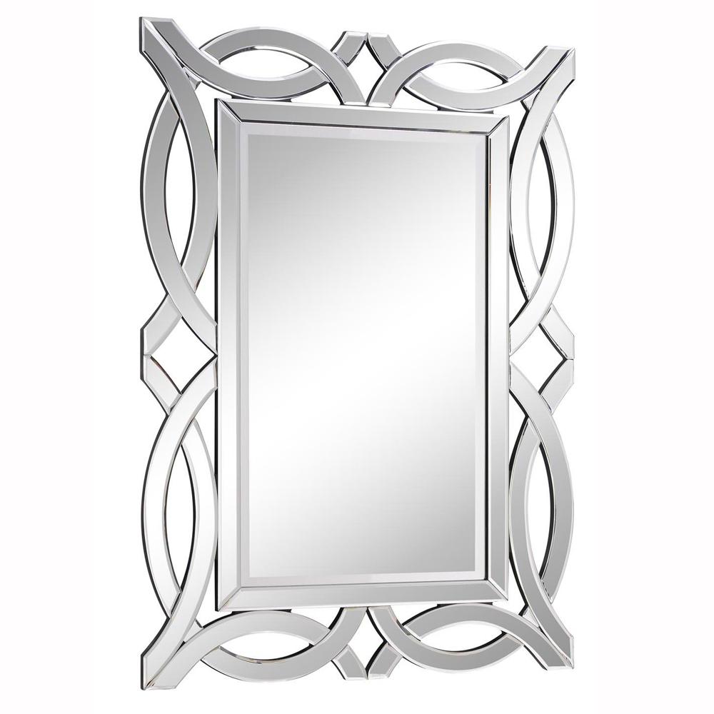 "Elegant Lighting MR-3347 Modern Mirror 28"" x 40"" x 5/8"" CL"