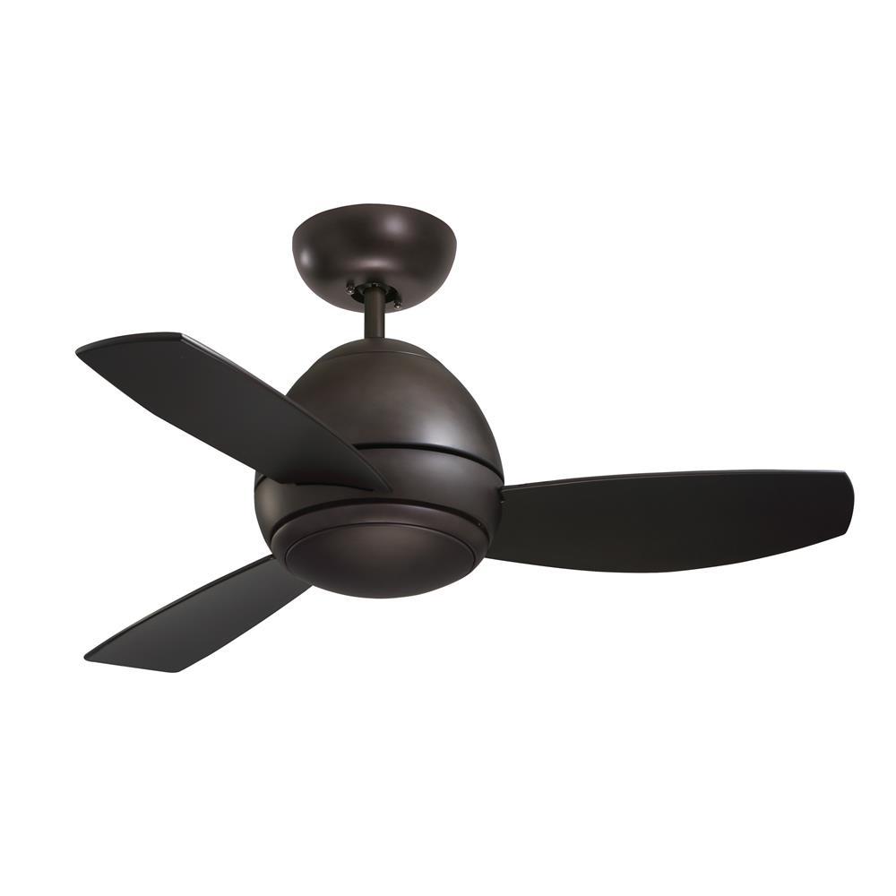 """Emerson CF244ORB 44"""" Curva Contemporary  Ceiling fan in Oil Rubbed Bronze"""