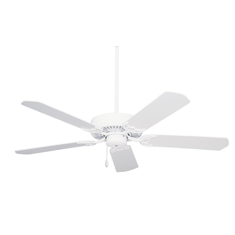 "Emerson CF652WW 52"" Summer Night Indoor/Outdoor  Ceiling fan in Appliance White"