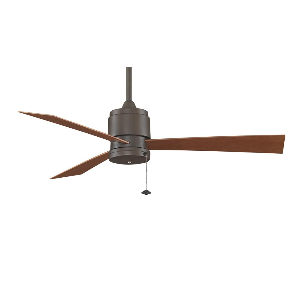 Fanimation FP4640OB ZONIX Uni-pack Fan in OIL-RUBBED BRONZE with CHERRY  Blades