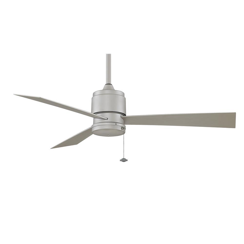 Fanimation FP4640SN ZONIX Uni-pack Fan in SATIN NICKEL with SATIN NICKEL Blades