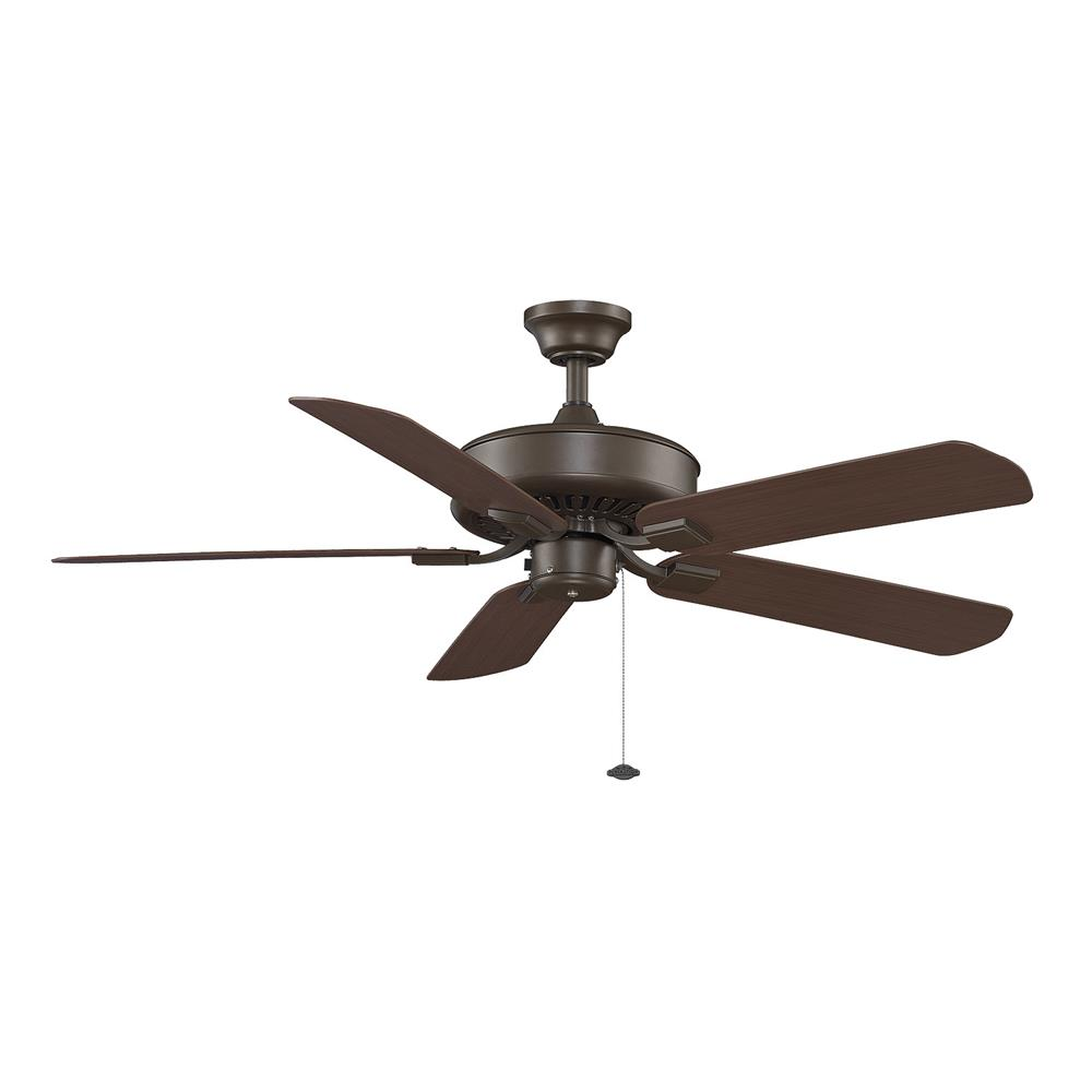 Fanimation TF910OB EDGEWOOD Uni-pack Fan in OIL-RUBBED BRONZE with DARK CHERRY Blades
