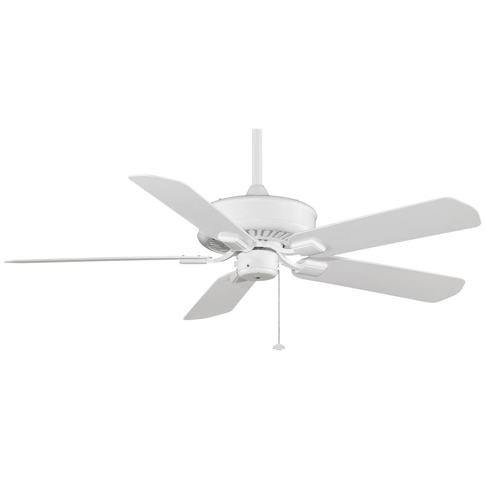 Fanimation TF910WH EDGEWOOD Uni-pack Fan in WHITE with WHITE Blades