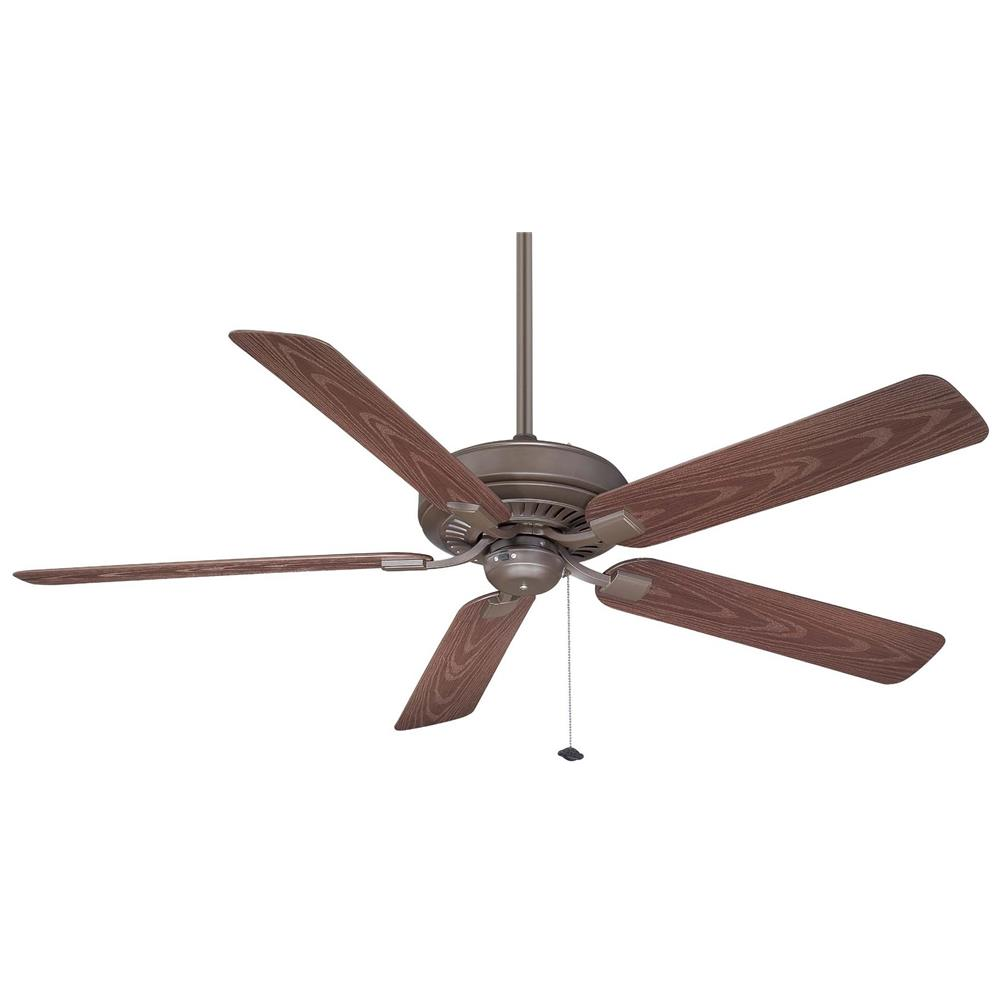 Fanimation TF971OB EDGEWOOD Uni-pack Fan in OIL-RUBBED BRONZE with DARK CHERRY Blades