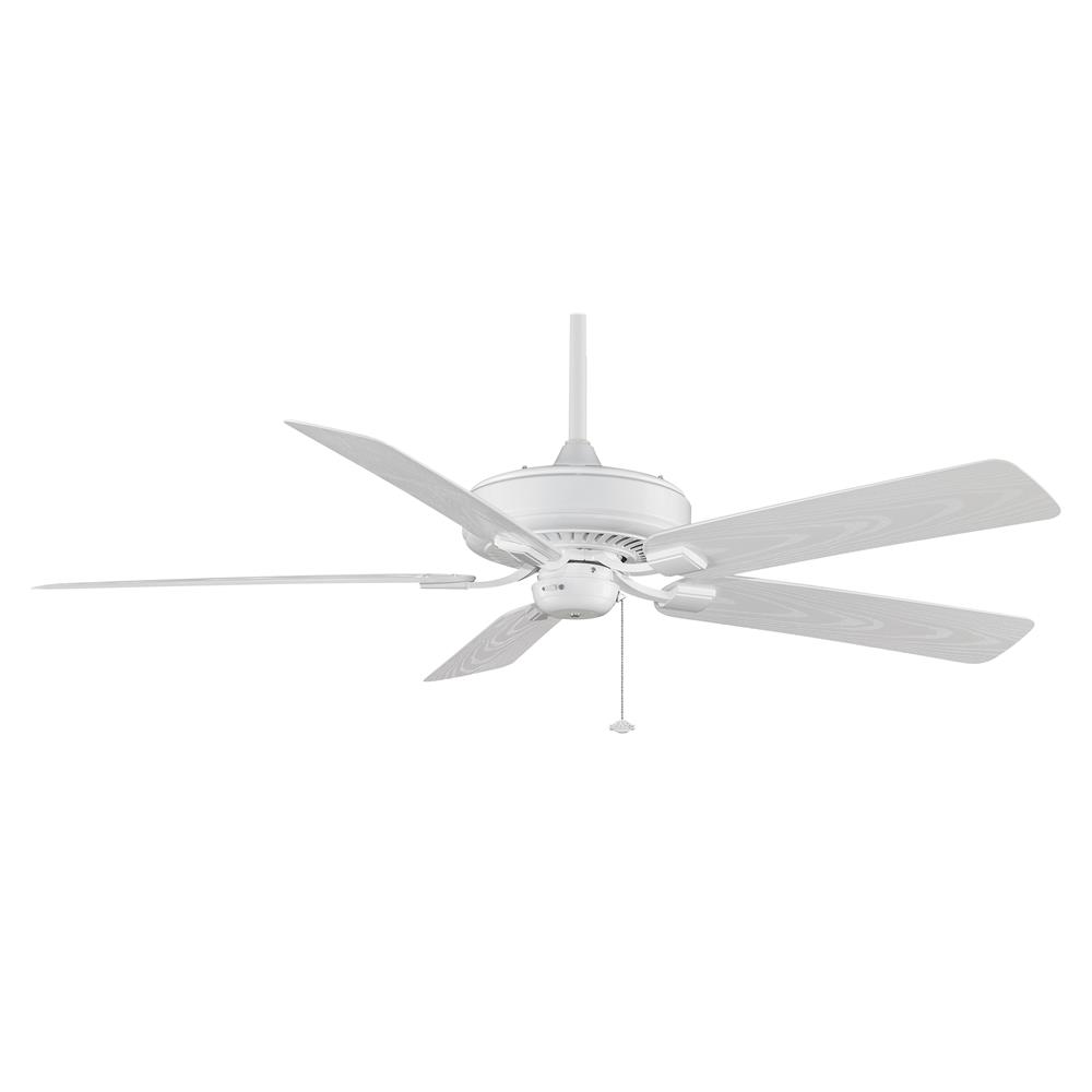 Fanimation TF971WH EDGEWOOD Uni-pack Fan in WHITE with WHITE Blades