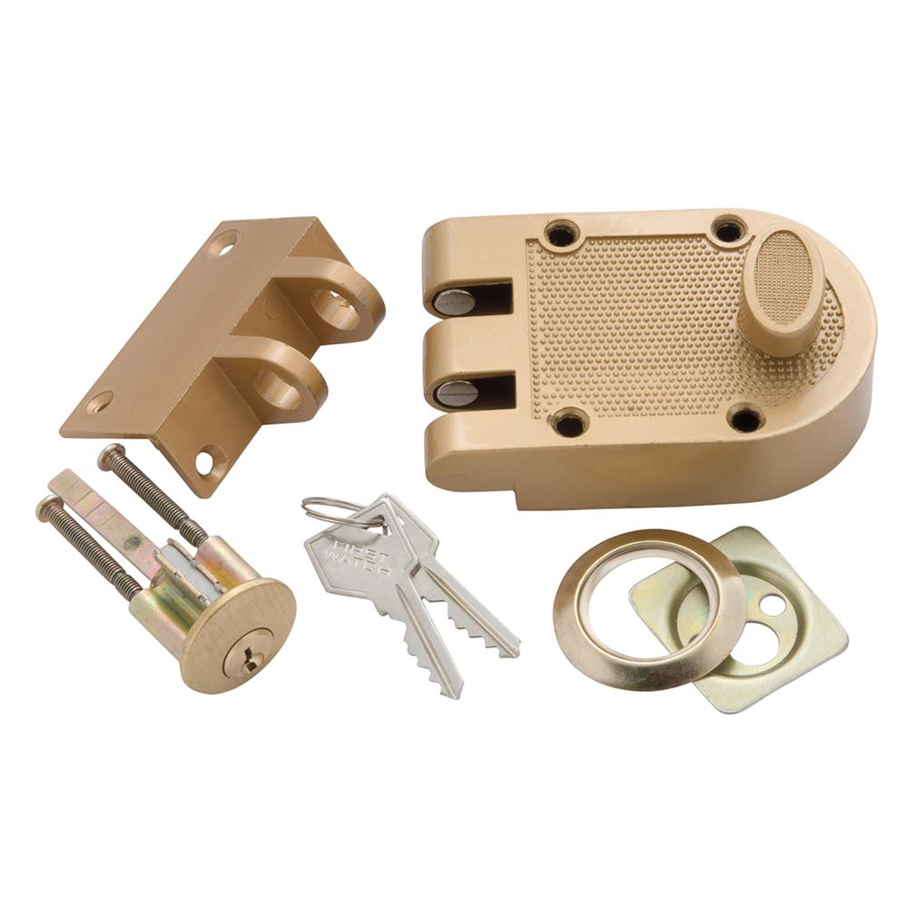 First Watch Security 1120 Single Cylinder Interlocking Deadbolt