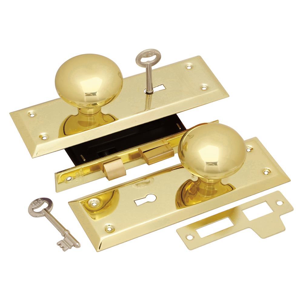 First Watch Security 1129 Keyed Knob Mortise Lockset