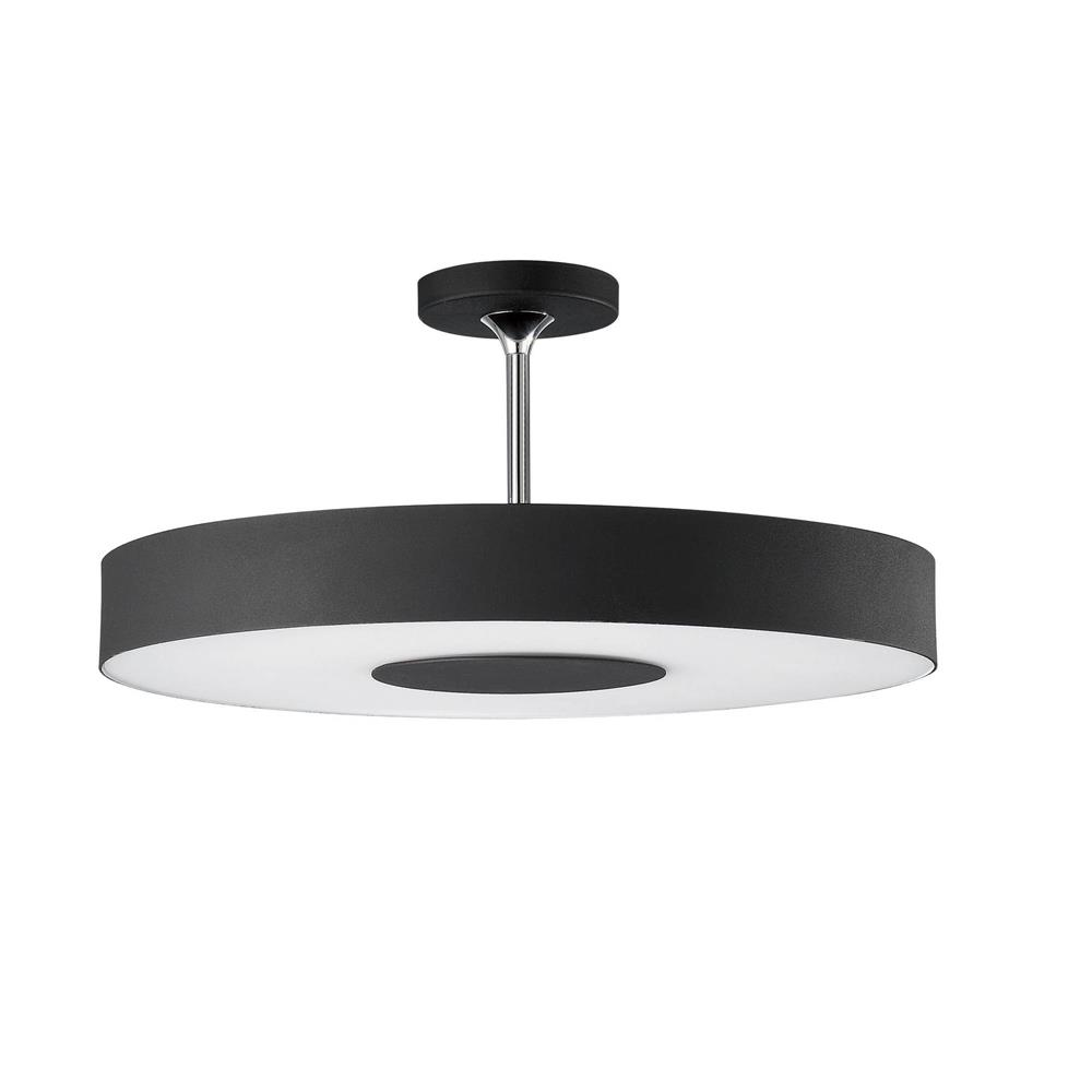 philips forecast  goinglighting - philips forecast lighting  discus ceiling light with black fabric