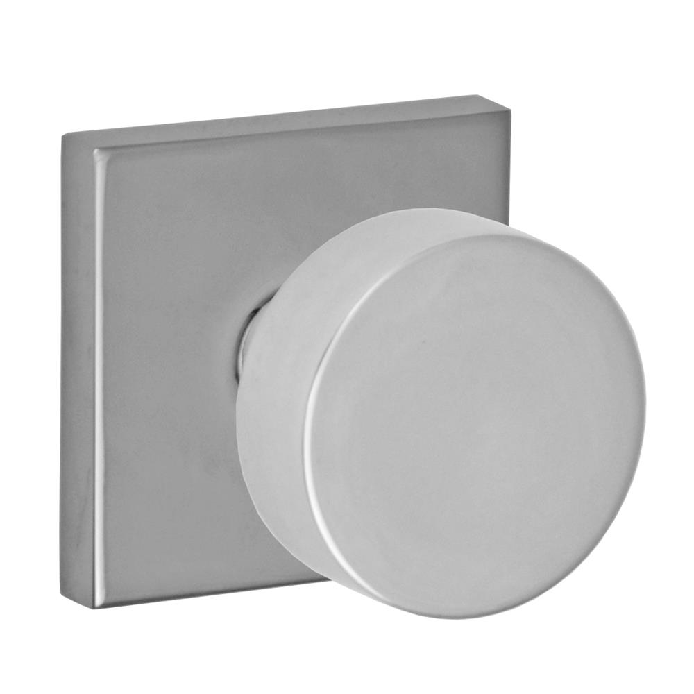 Fusion Hardware D-04-S7-E-PSS 2050 Knob with Square Rose Dummy Single in Polished Stainless Steel