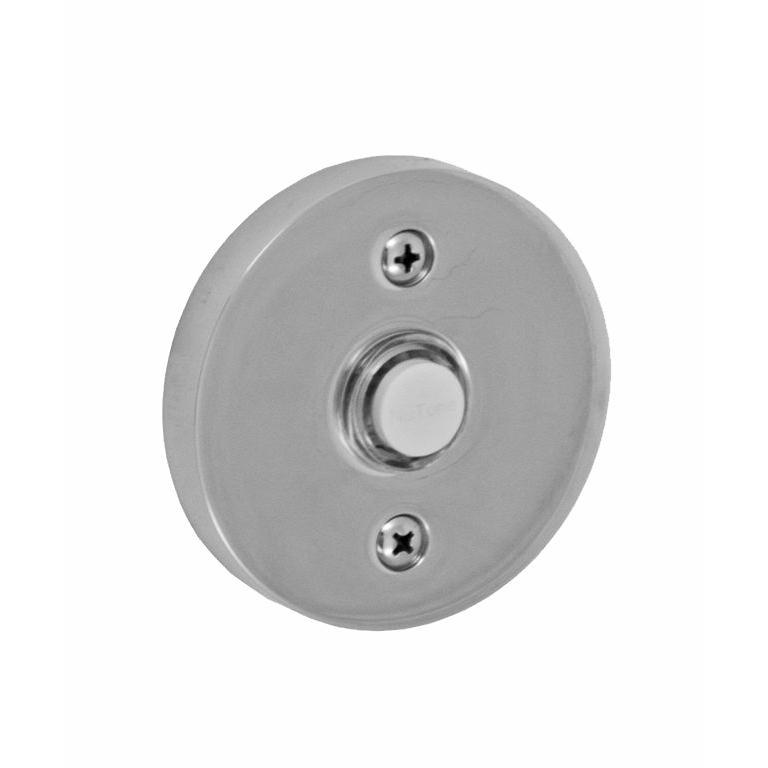Fusion Hardware B-EL-A2-BRN Contemporary Doorbell in Brushed Nickel