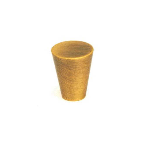 Giagni KB-18B-R7 QMI, 5/8 in. Cone Knob - Antique Brass