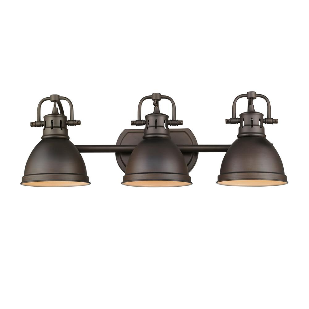 Bathroom lighting lights amp fixtures 9000 wall amp ceiling light - Golden Lighting 3602 Ba3 Rbz Rbz