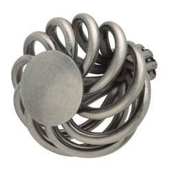 Hafele 125.37.901  Knob Steel Pewter 8-32 32mm Wire