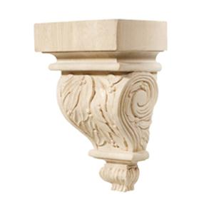Hafele 198.00.120  Chateau Maple 5 7/8 X 9 Corbel