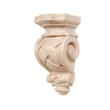 Hafele 198.08.100  Cottage Maple 2 7/8 X 6 Corbel