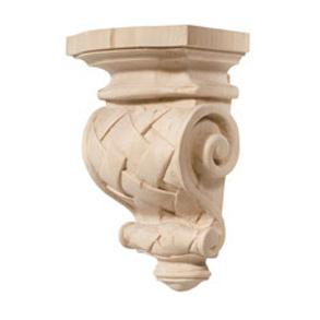 Hafele 198.08.110  Cottage Maple 5 7/8 X 9 Corbel