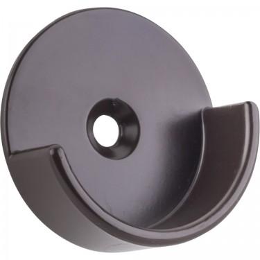 """Hardware resources M7340-ORB Open Closet Bracket for 1-5/16"""" Closet Rod in Dark Bronze"""