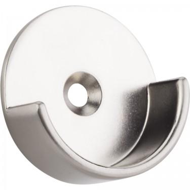 "Hardware resources M7340-SN Open Closet Bracket for 1-5/16"" Closet Rod in Satin Nickel"