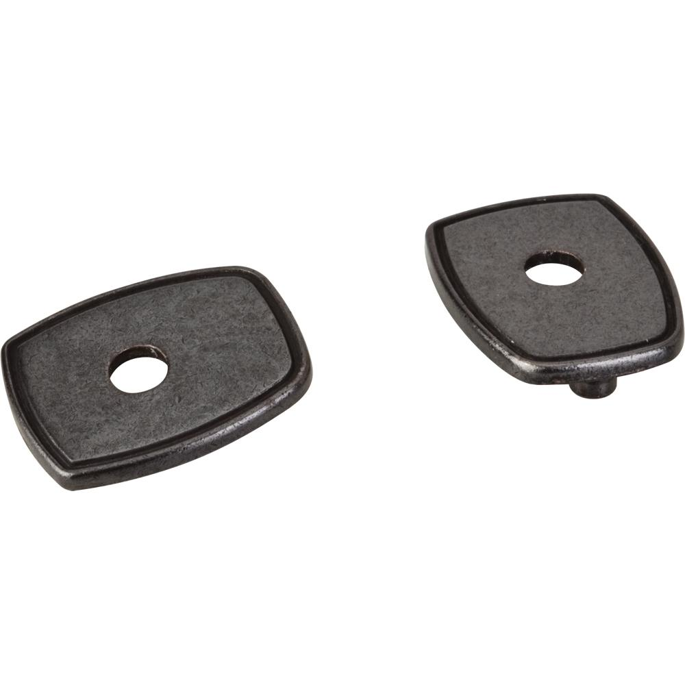 "Jeffrey Alexander by Hardware Resources PE07-DACM Zinc Die Cast Pull Escutcheon for 3"" to 96mm Transition.  Fi"