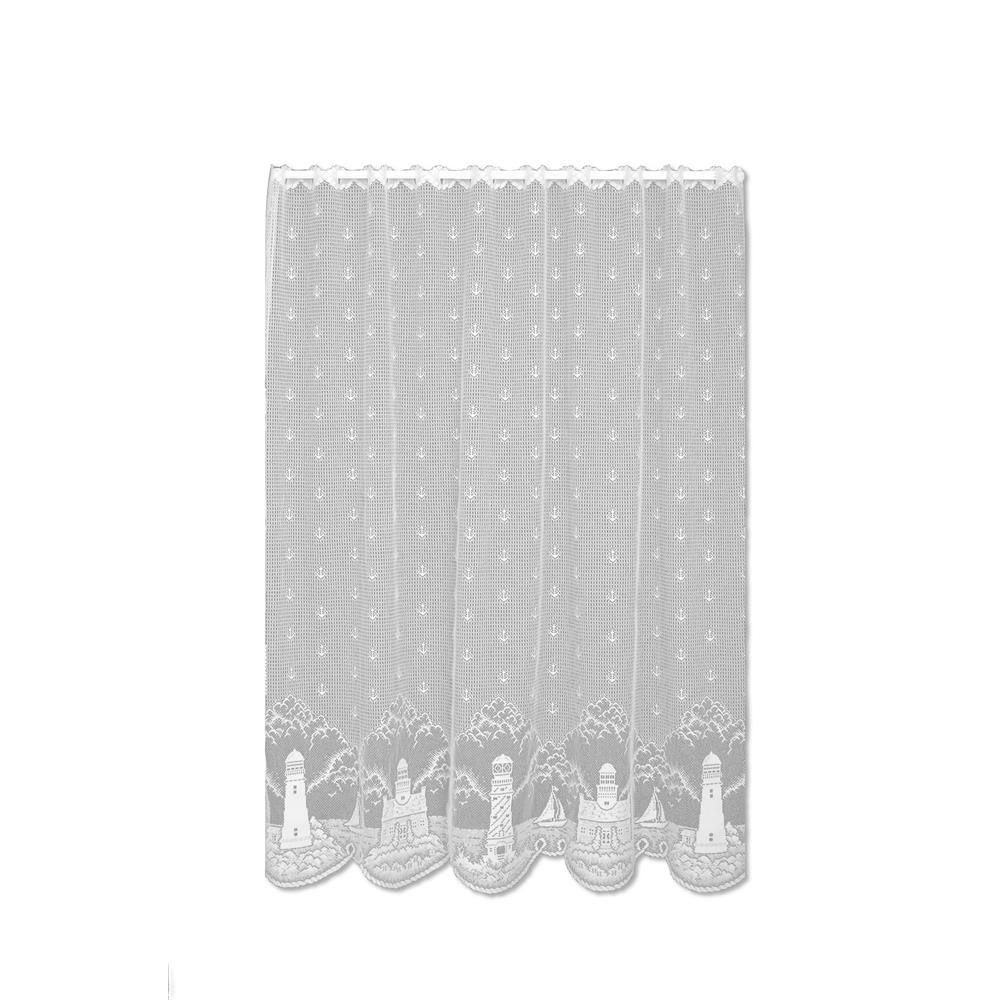 Heritage Lace 6140W-6063 Lighthouse 60X63 Panel, White