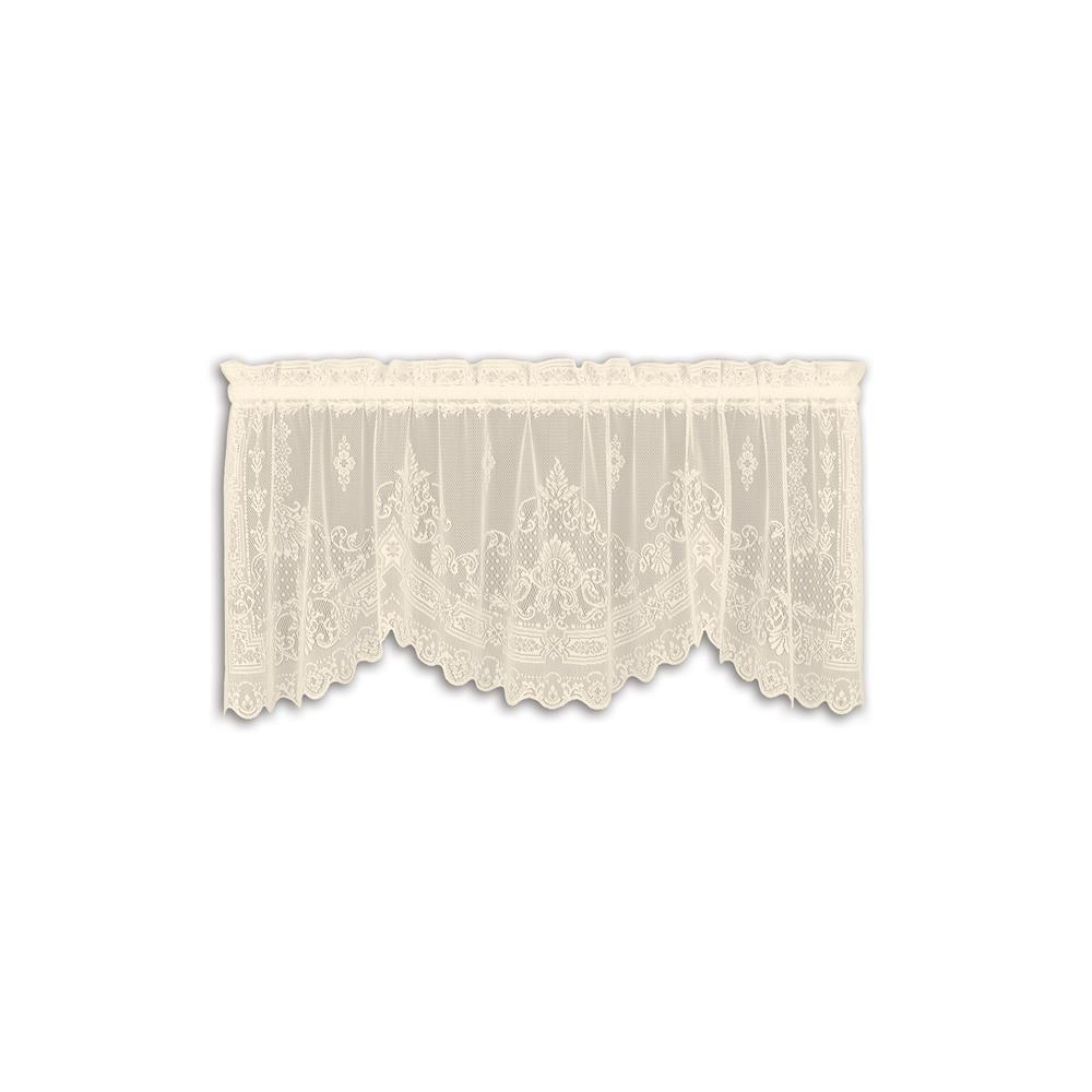 Downton Abbey by Heritage Lace 6365C-6020 Milady 60X20 Valance, Cream