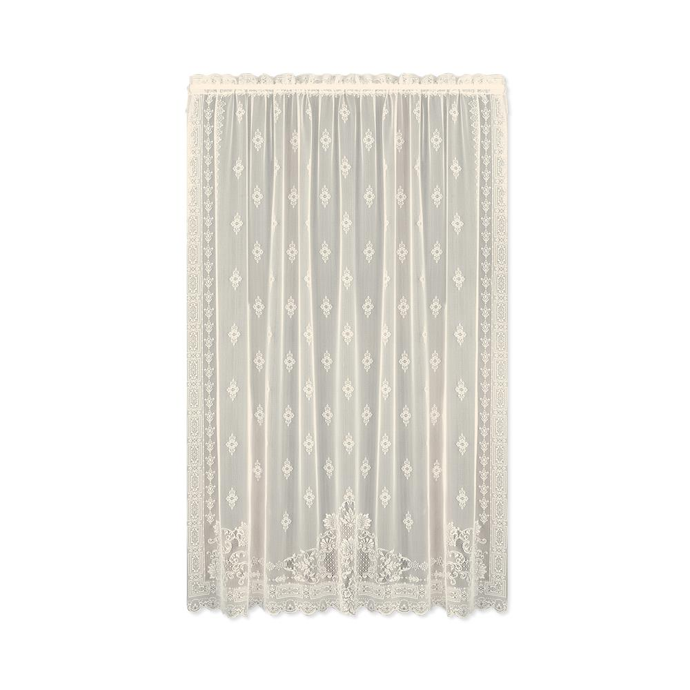 Downton Abbey by Heritage Lace 6365C-6063 Milady 60X63 Panel, Cream
