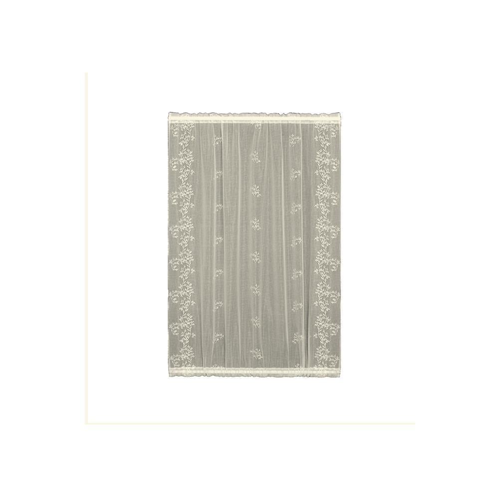 Heritage Lace 8220e-4236dp Sheer Divine 42x36 Door Panel In Ecru