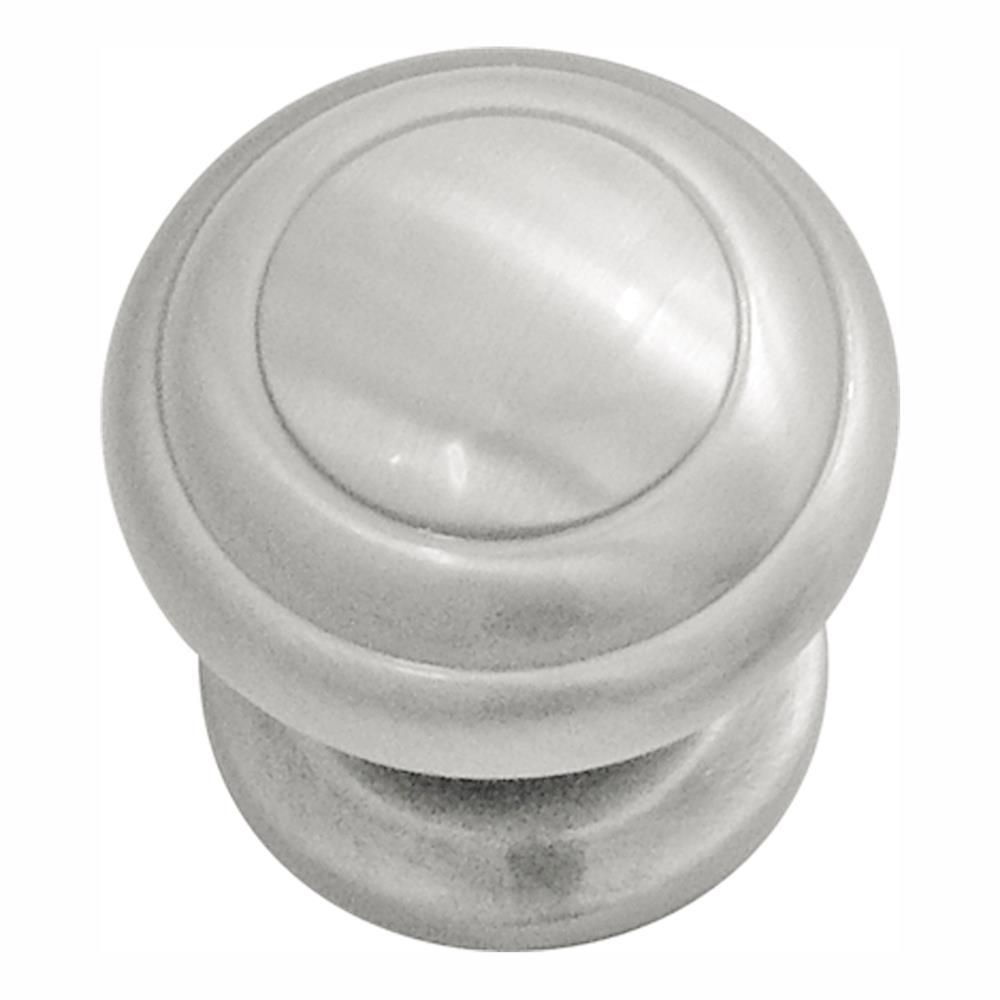 "Hickory Hardware P2283-SN 1-1/4"" Zephyr Contemporary Satin Nickel Knob"