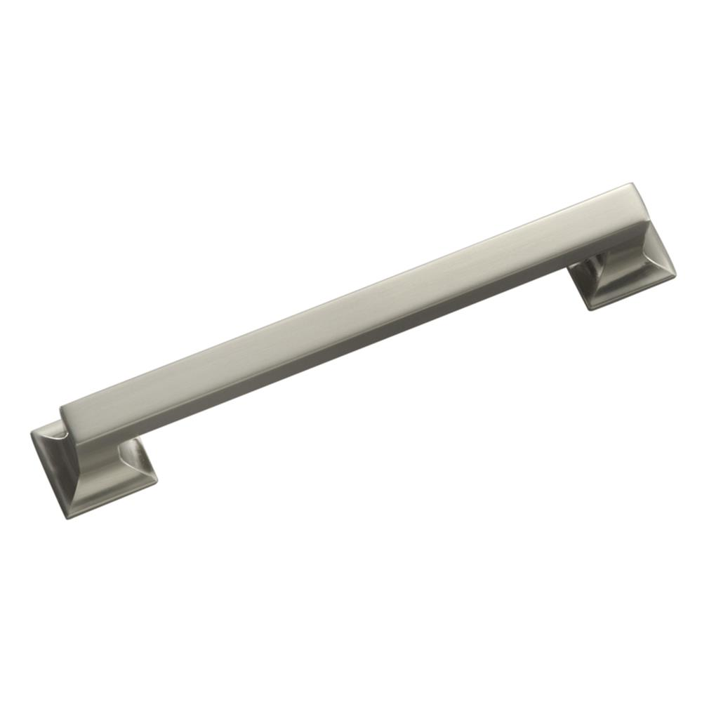 "Hickory Hardware P3017-SN 8"" Studio Collection Appliance Pulls Satin Nickel Pull"
